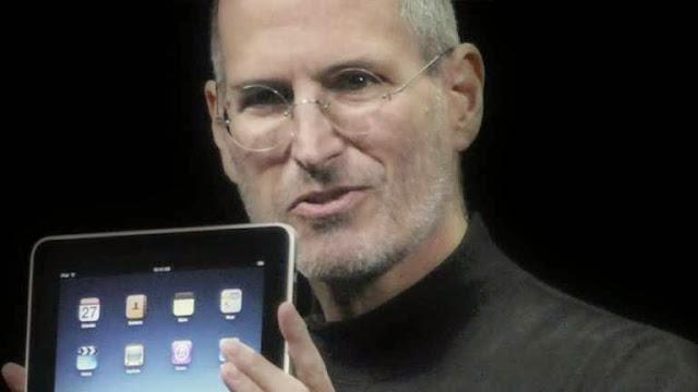 Gambar Steve Jobs iPad