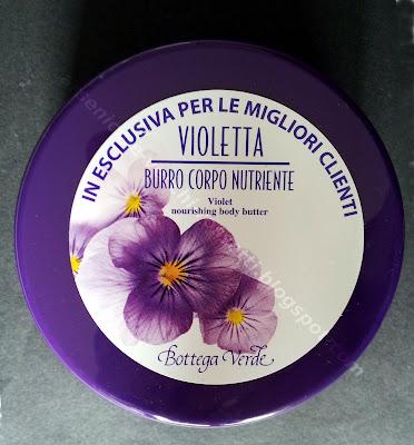 Bottega Verde Burro Corpo Nutriente Violetta