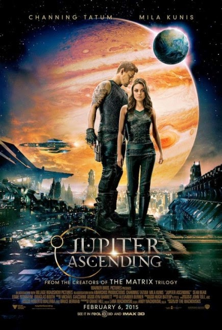 """Jupiter Ascending (2015)"" movie review by Glen Tripollo"