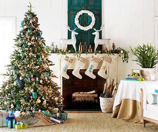 Cottage Blue Designs: Coastal Christmas