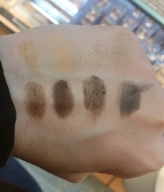 shades of nude eye shadow palette Swatch
