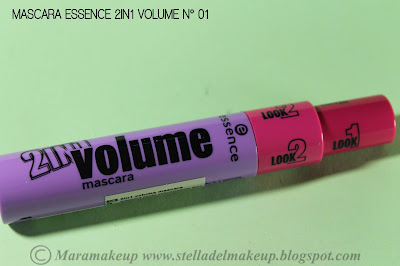 mascara essence 2in1 volume n° 01