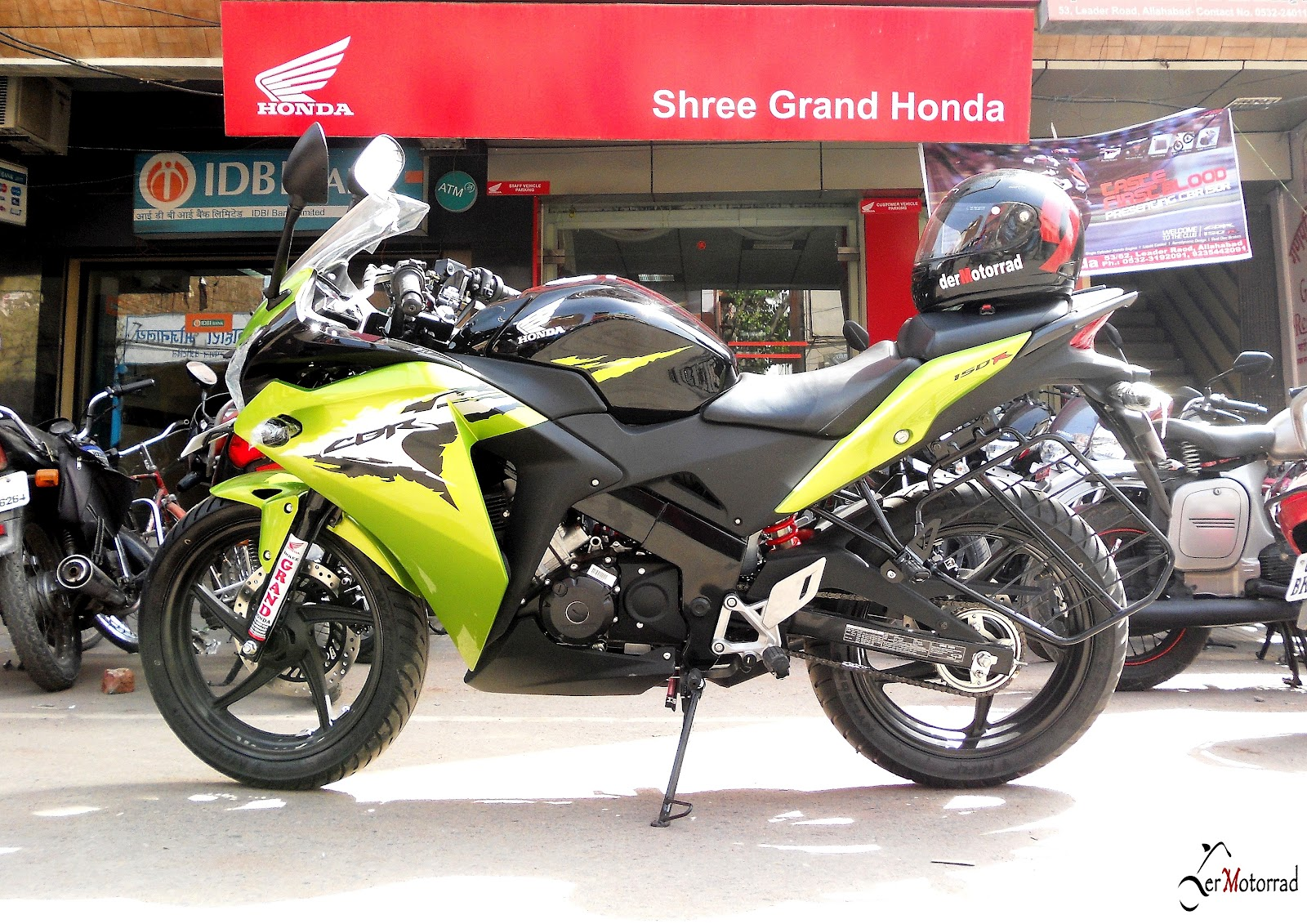 for CBR 150R is Rs 5000