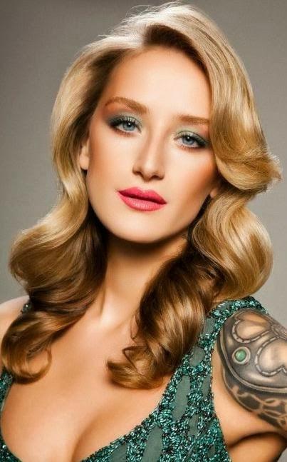 Peinados Faciles Media Melena Nochevieja Peinados Faciles 2014
