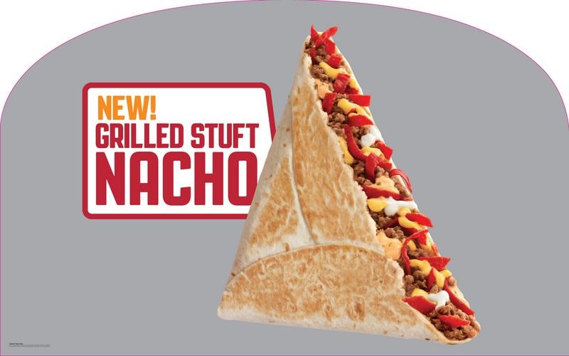 Taco Bell Grilled Stuffed Nacho