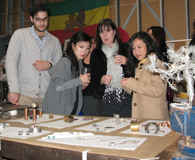 customers view students' jewelry