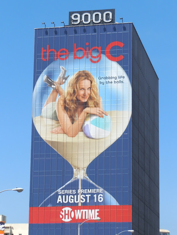 The Big C giant season 1 billboard