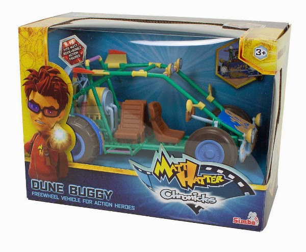JUGUETES - Matt Hatter Chronicles   Dune Buggy | Vehículo  Producto Oficial  de la serie de Clan Televisión  Simba | A partir de 3 años