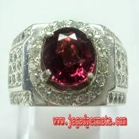 Batu Permata Purple Garnet