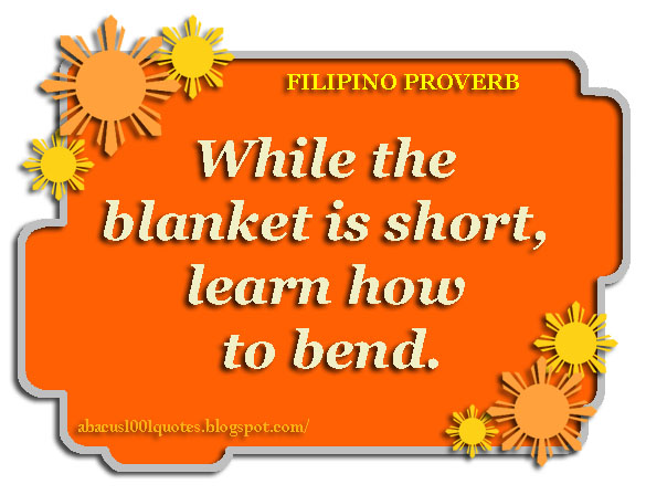 Filipino Proverbs and Wise Sayings | Abacus1001Quotes