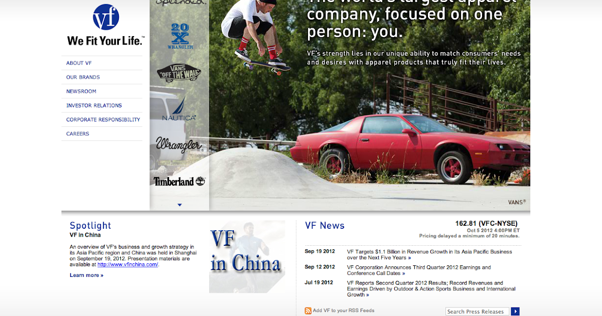 vf brands global supply chain strategy case study