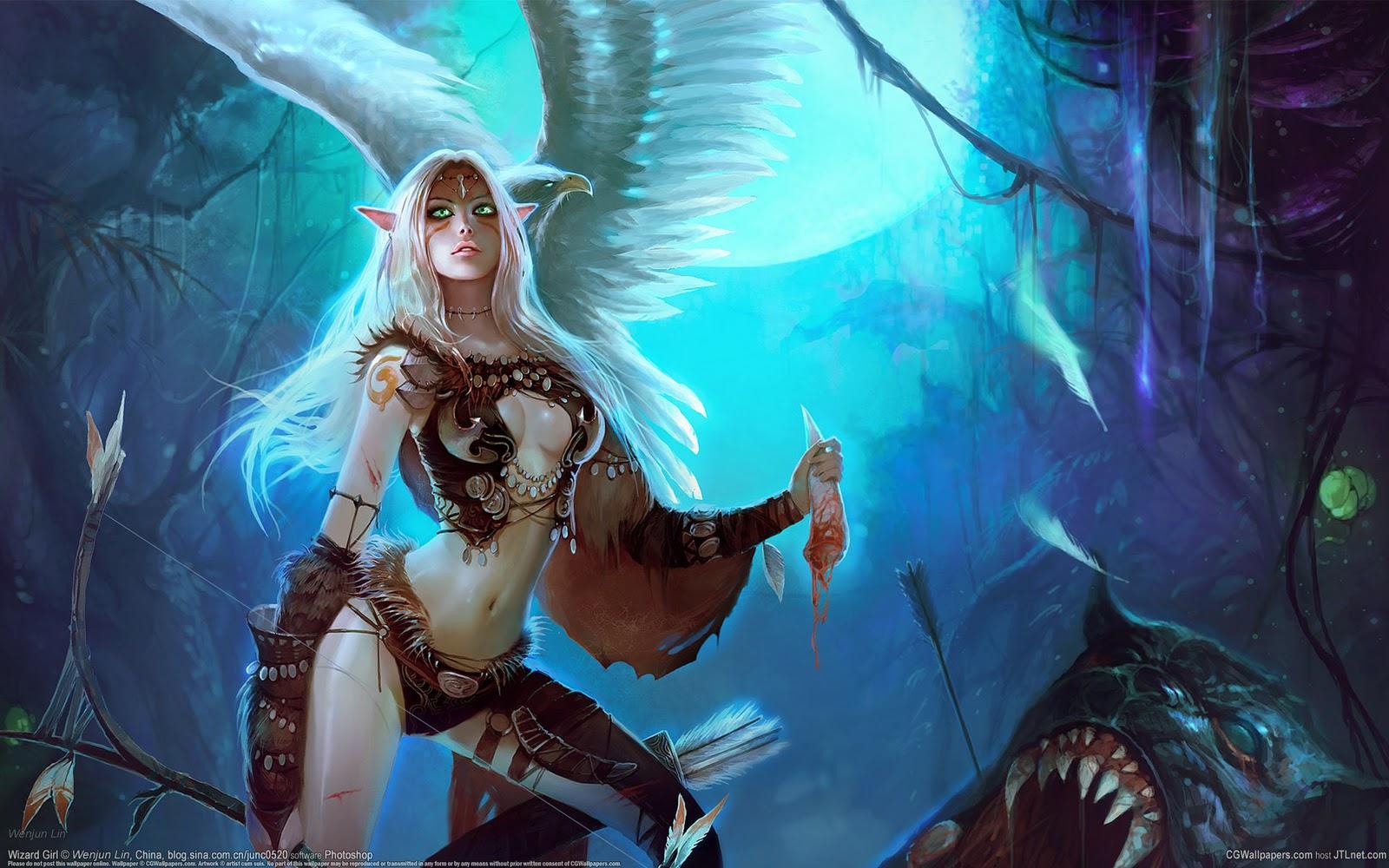 Elf women and monsters adult galleries