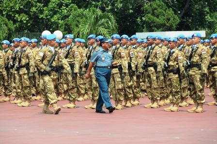 TNI Berangkatkan 1.169 Prajurit ke Lebanon