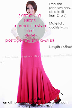 NBS05 MERMAID-IN-STYLE SKIRT