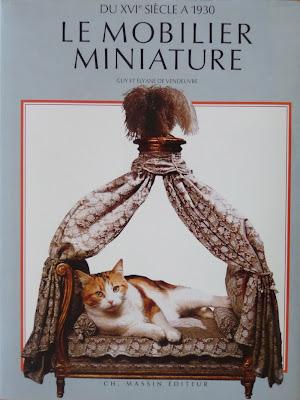 Le Mobilier Miniature,Guy et Elyane De VENDEUVRE,Livre,Miniature