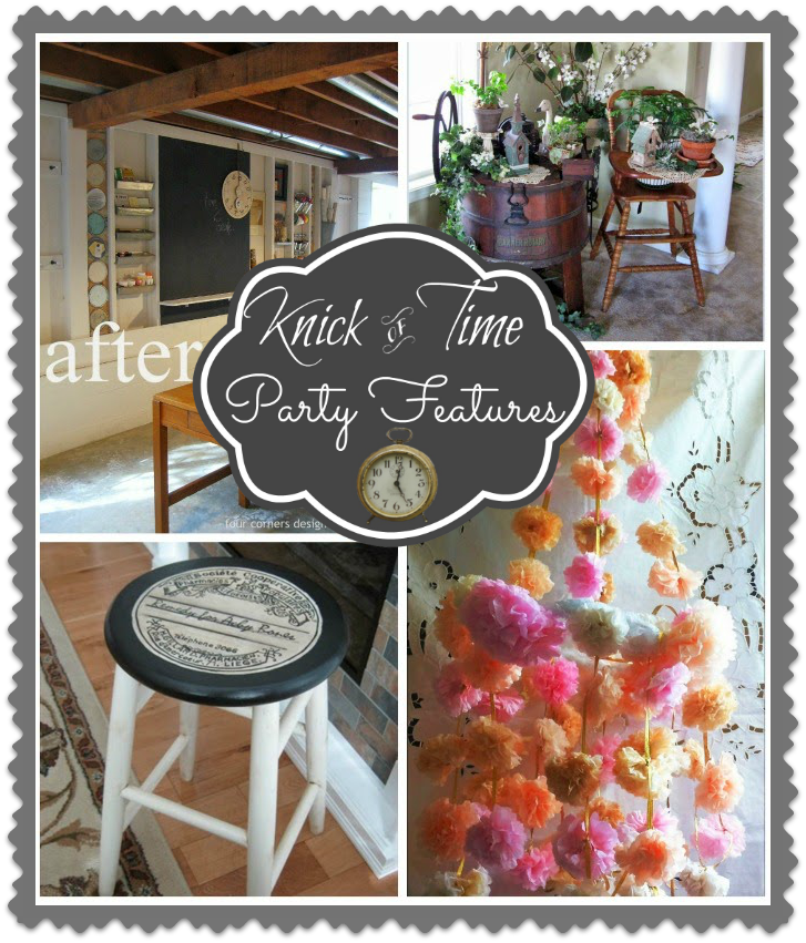 Antique and Vintage Decor Link Party at http://knickoftimeinteriors.blogspot.com/