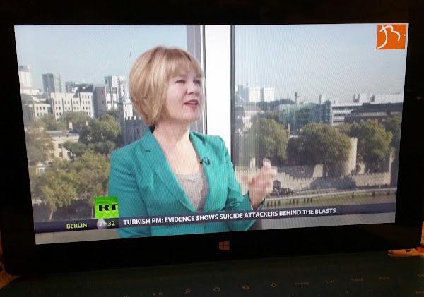 RT, Russia Today, Global International News Network - Official Website - BenjaminMadeira