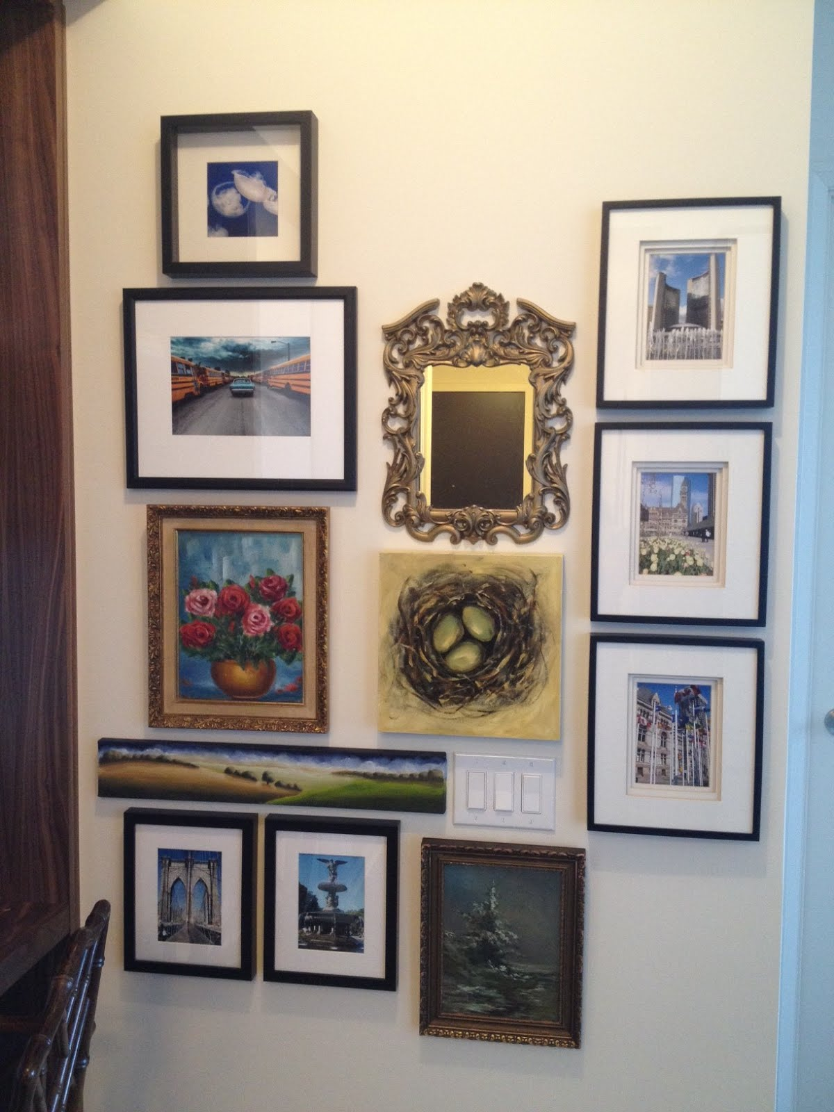 Gallery Wall Planner cherish toronto: art wall