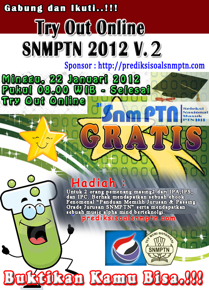 Aneka Bank Soal Try Out Snmptn 2012 Online V 2