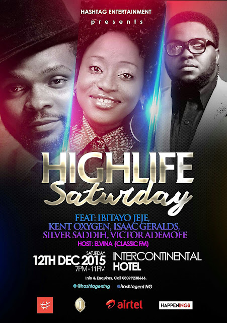 Queen of Highlife, Ibitayo Jeje Set for 'Highlife Saturday'