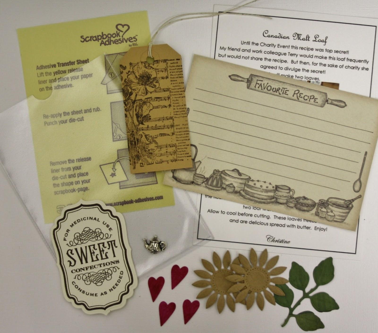 recipe card notebook