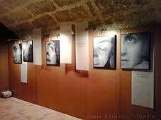 """Exposició """"Desconfiar"""" a Porqueres d'abril a juny  2014"""