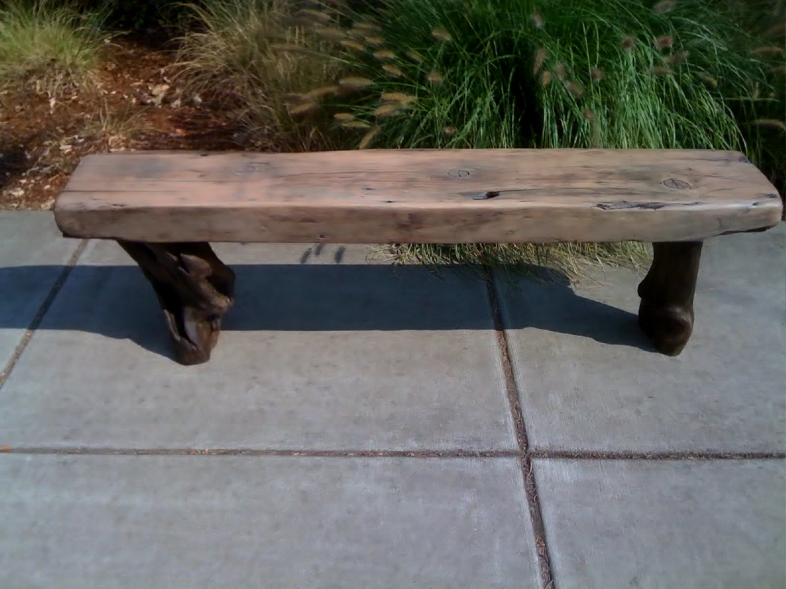 driftwood fashionable search bench google seat diy