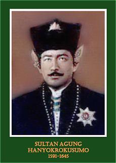 gambar-foto pahlawan nasional indonesia, Sultan Agung Hanyokro Kusumo