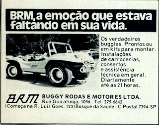 propaganda Buggy BRM - 1976.  reclame de carros anos 70. brazilian advertising cars in the 70. os anos 70. história da década de 70; Brazil in the 70s; propaganda carros anos 70; Oswaldo Hernandez;