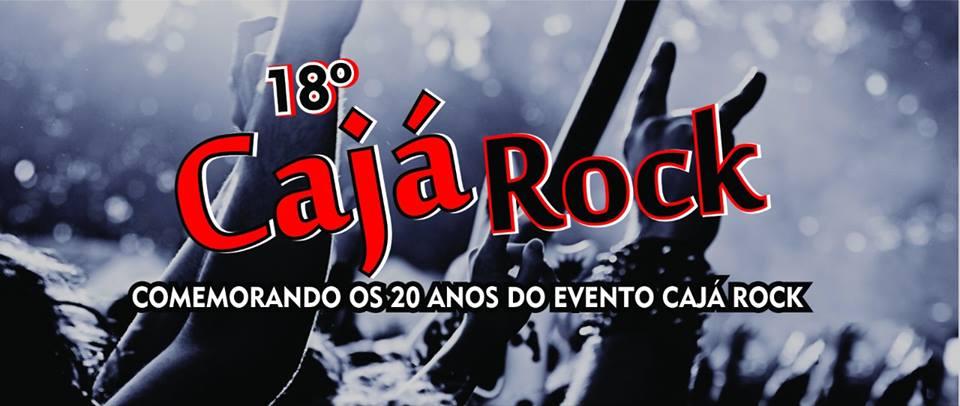 18º CAJÁ ROCK - EM DEZEMBRO, DIA 15, ÀS 20H, NA PRAÇA DO LEBLON - NO AÇUDE GRANDE
