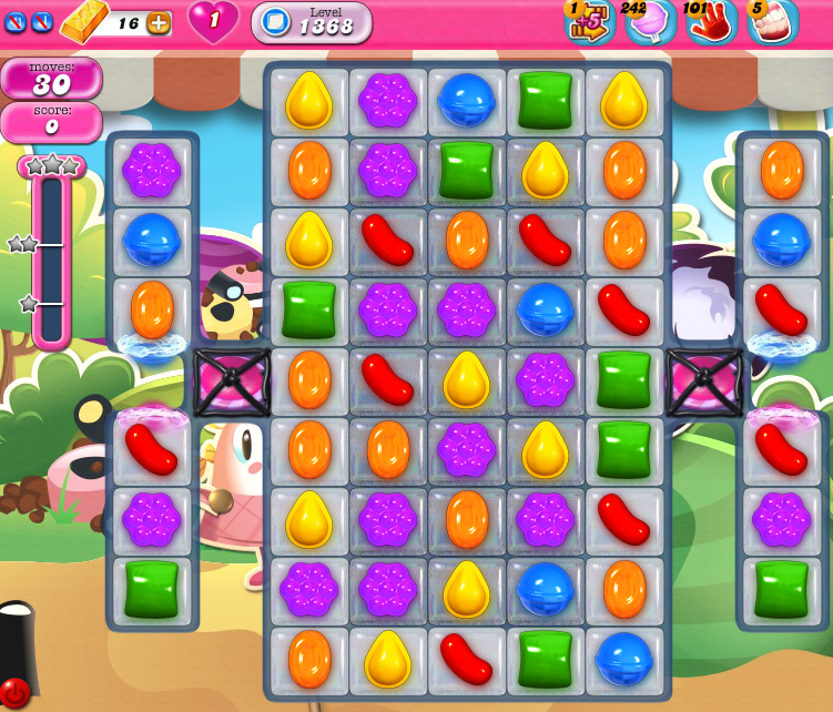 Candy Crush Saga 1368