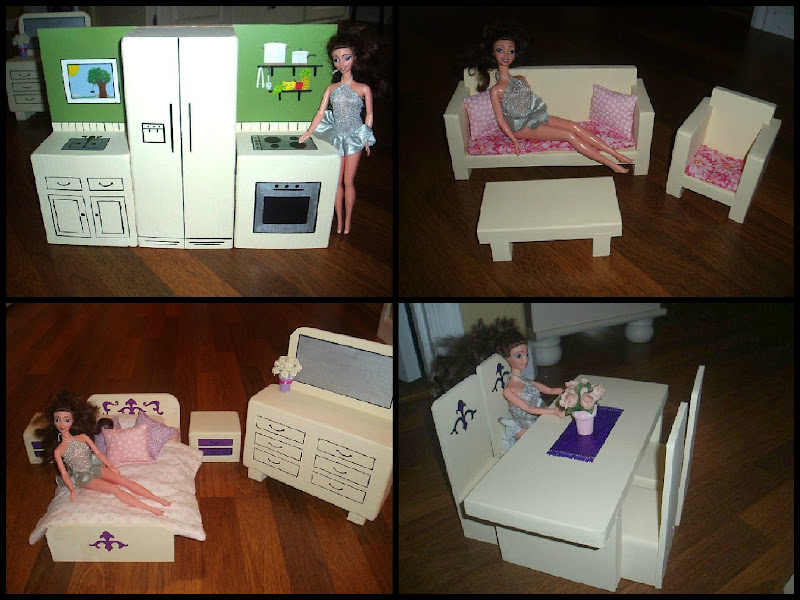 How to Make Barbie Doll Furniture