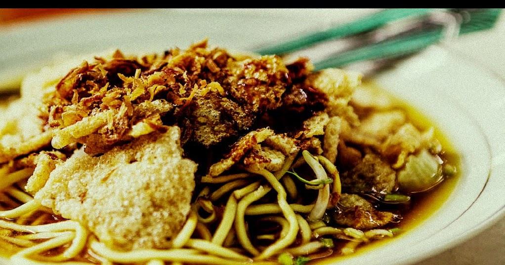 Mie Kopyok Makanan Tradisional Dari Semarang Jawa Tengah Negeriku Indonesia