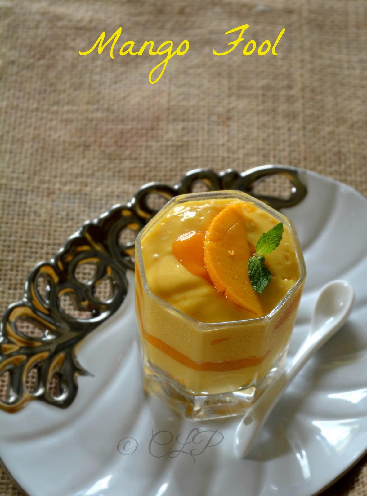 Easy Mango Dessert