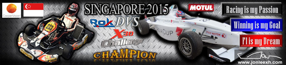 "Jon Lee ""Singapore 2015 Rok DVS X30 Challenge Champion"""