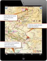 Reiseplanung mit Hema 4WD Offroad APP