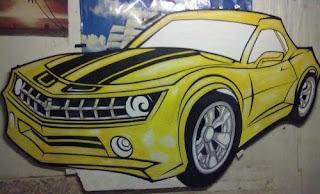 Dekor styrofoam Mobil