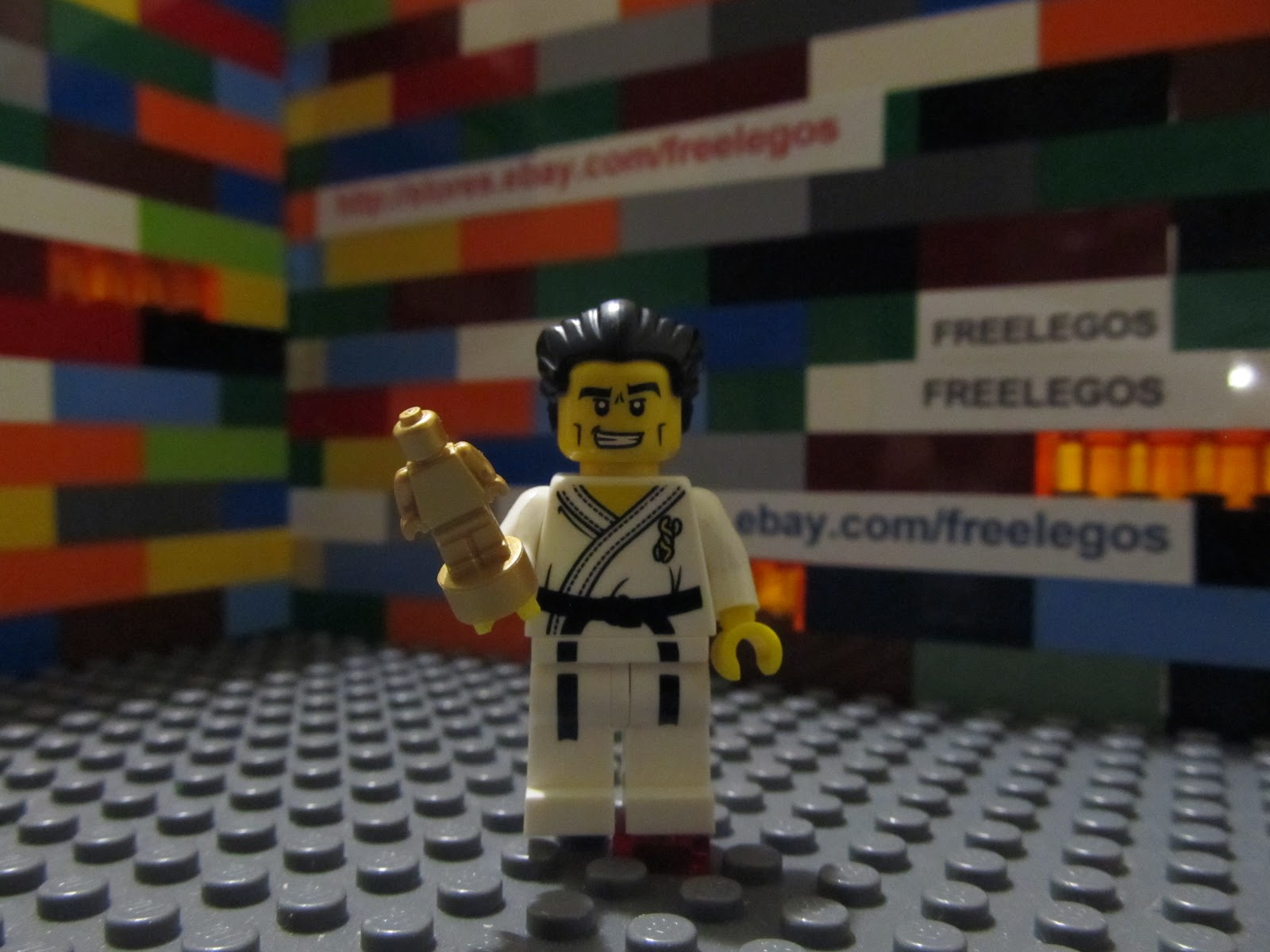 karate guy minifigure series 2 sports taekwondo Email This BlogThis ...