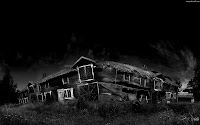 Creepy House | Dark Gothic Wallpapers