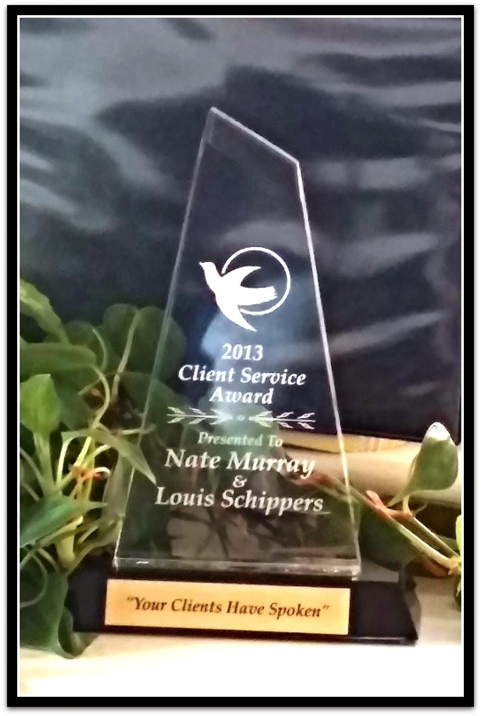 Client Service Award