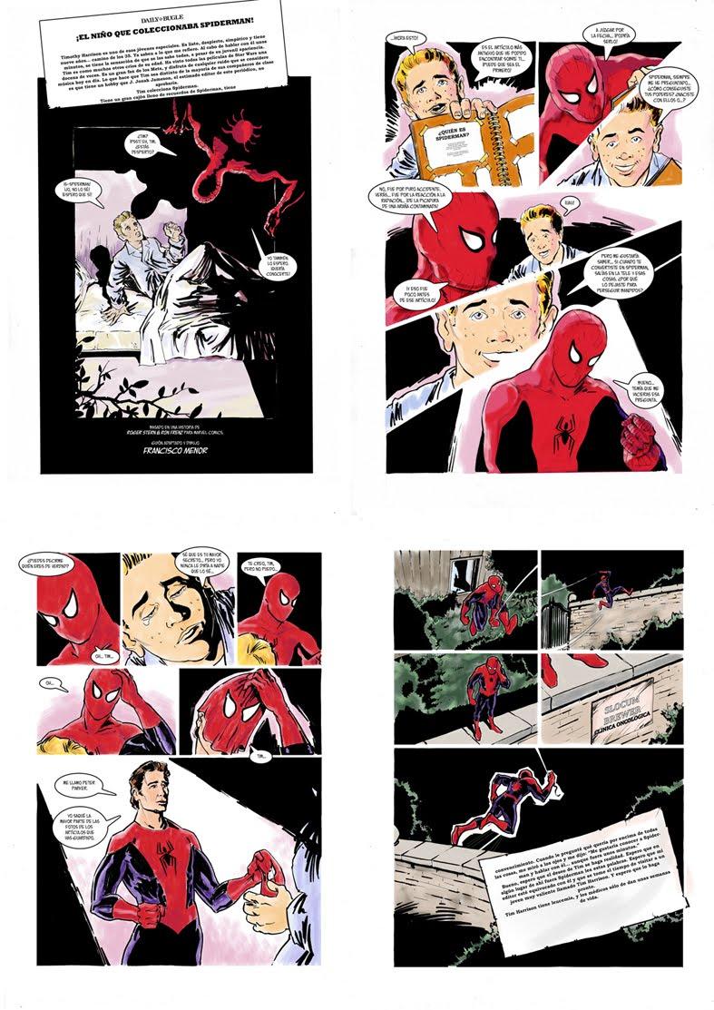 F.Meno - Revista Antimateria - Spiderman