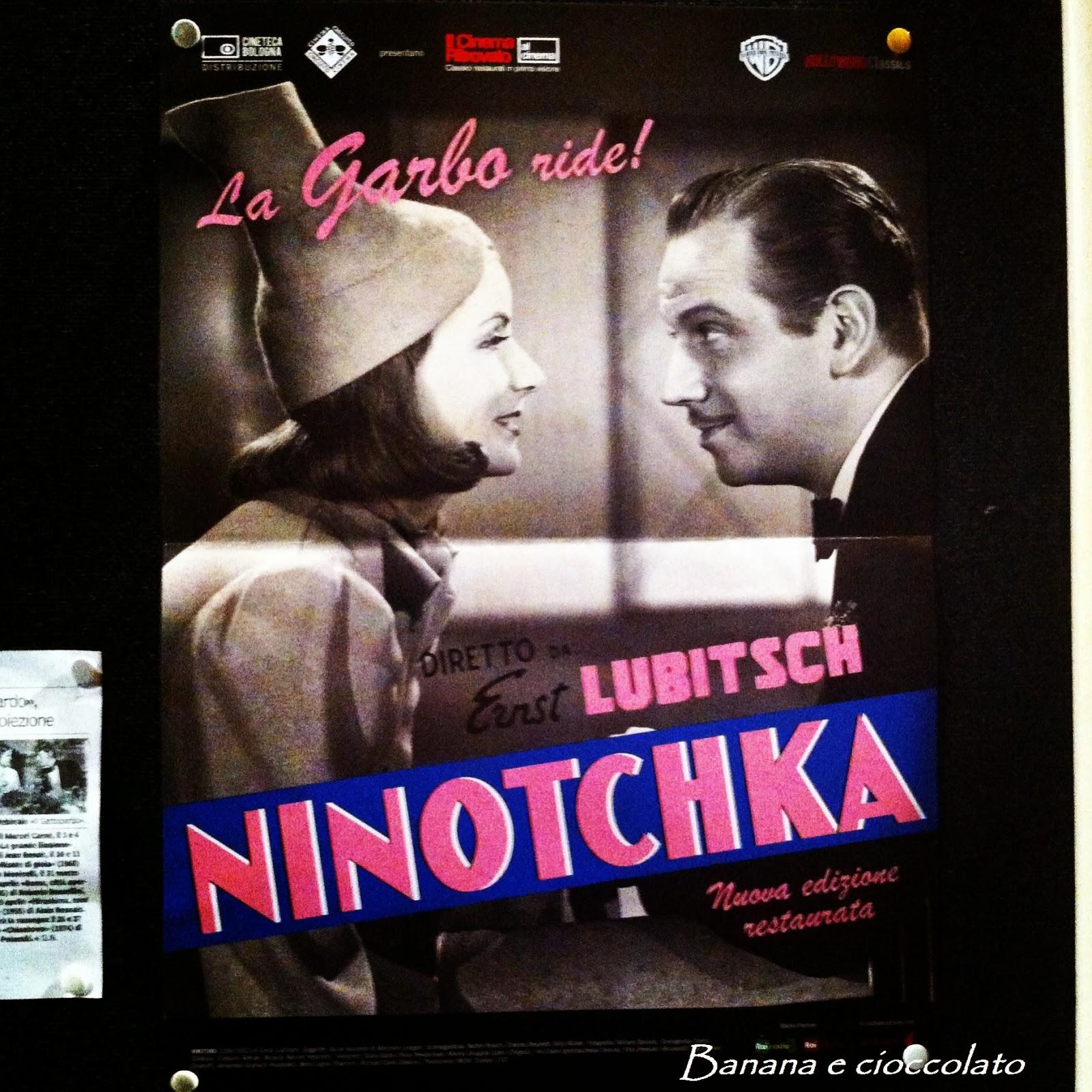 ninotchka, cinema astra, parma