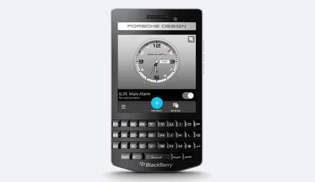 BlackBerry P9983 Graphite launched in India Rs. 99990/-