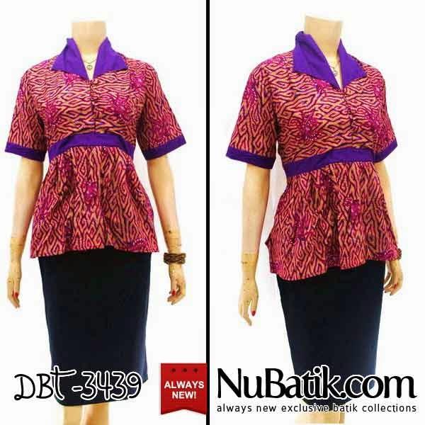 Blouse Kerja Wanita Batik 36