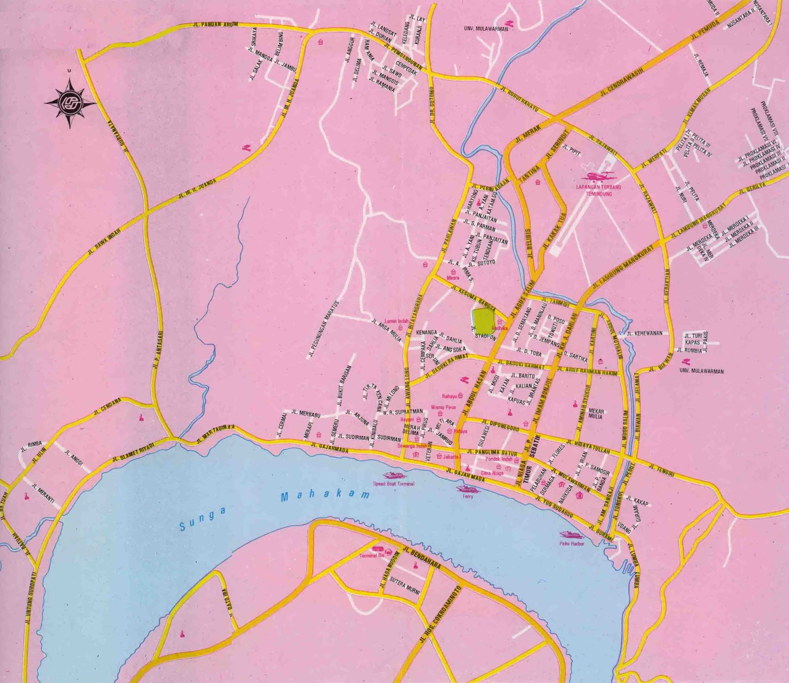 DESNANTANA JOURNEY: Samarinda City Map