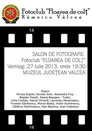 Expoziţia Fotoclubului Floarea de Colţ - Zilele Imnului Naţional 2013.