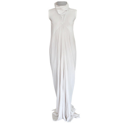 rick owens mermaid dress long wedding gown