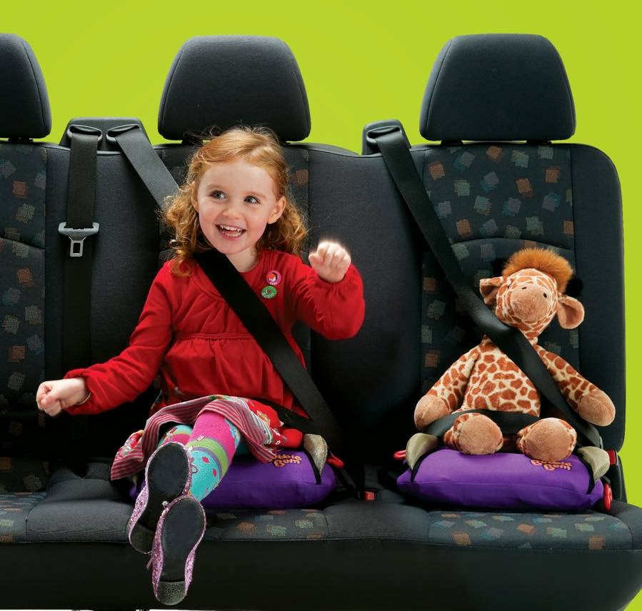 BubbleBum Portable Car Booster Seat Review and Giveaway