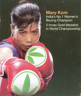 women boxing champion Mary Kom