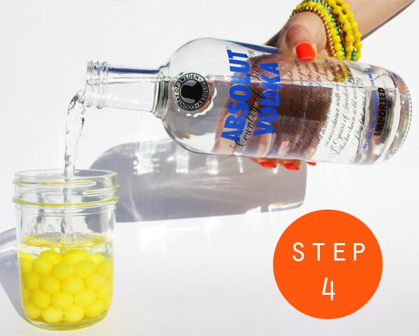 Purple Frogz DIYs: Lemonhead Infused Vodka!